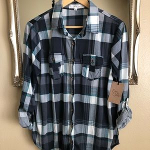 Eden and Olivia Flannel Shirt